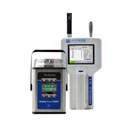 Microbial & Non-Viable Particle Measuring Equipment